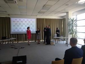 J. Čenkutei - Seimo pirmininko sveikinimas