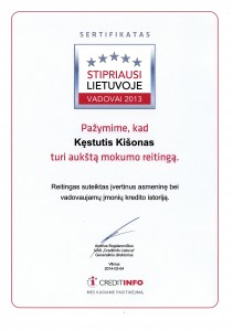 Kęstutis Kišonas-2013